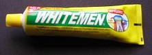 whitemen toothpaste