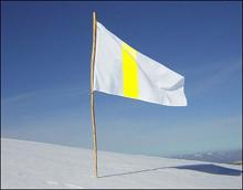 democratic flag of surrender