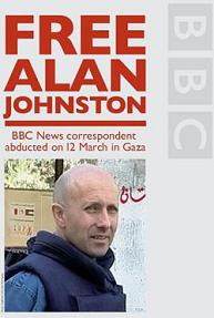 release Alan Johnston national union of journalists in the UK