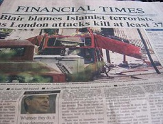 Blair Blames Islamist for 7/7 attacks london