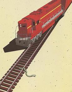 phobia snake derails train