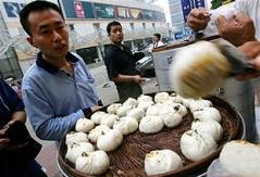 china steamed buns cardboard