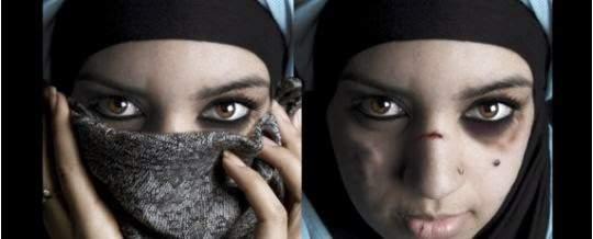 Old muslim women against exhibitionism 10